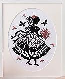 オリムパス製絲 クロスステッチししゅうキット 「オノエ・メグミの少女のステッチ」No.7384 花束