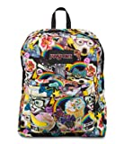 Jansport Black Label Hairball Kitty Cat Tiger Superbreak Backpack