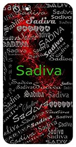 Sadiva (Eternal ,Like Truth) Name & Sign Printed All over customize & Personalized!! Protective back cover for your Smart Phone : Apple iPhone 7
