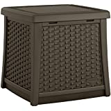 Suncast ELEMENTS® End Table with Storage, Java