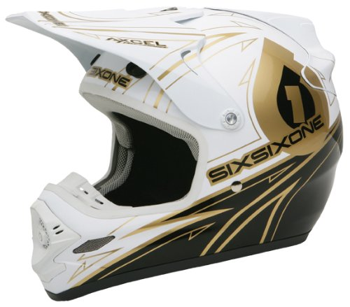 Best Sixsixone Flight II Legend Bike Helmet, White/Gold, XX-Large With Low Price.