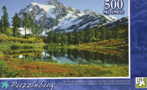 Mt. Shukasan North Cascades - Puzzlebug -500 Pc Jigsaw Puzzle - NEW - 1