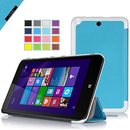 IVSO HP Stream 8 Ultra Lightweight Slim Smart Cover Case-(Lifetime warranty)-will only fit HP Stream 8 Tablet (Blue) at Electronic-Readers.com