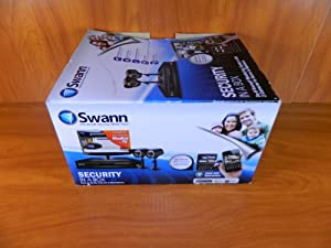swann security in a box do it yourself monitoring system with 2 cameras for home. Black Bedroom Furniture Sets. Home Design Ideas