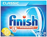 Finish Classic Lemon Sparkle 30 Dishwasher Tablets