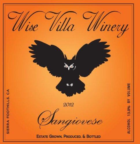2012 Wise Villa Winery Sierra Foothills Sangiovese 750 Ml
