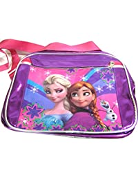 Art Box Big Size FROZEN Print Sling Bag For Girls (Size 13*10 Inch)