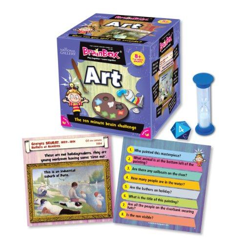 Imagen 2 de Green Board Games BrainBox Art- Juego de mesa (en inglés) [Importado de Gran Bretaña]