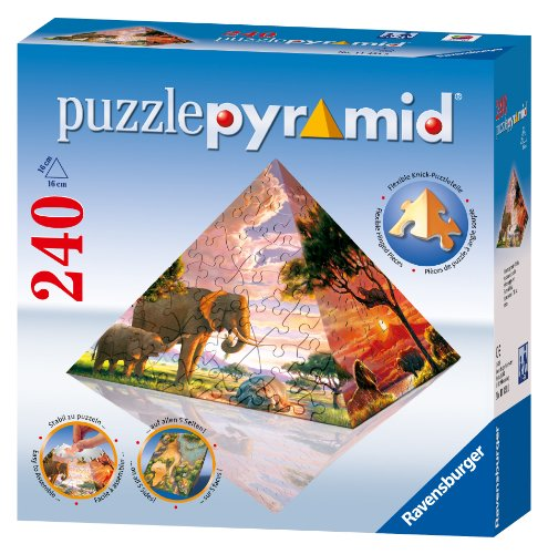 Cheap Fun Ravensburger Impressions Of Africa – 240 Pieces Puzzlepyramid (B002ZCXPUI)