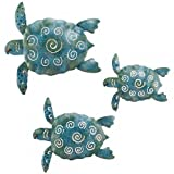 SEA Turtle Beach Ocean Summer Metal Wall ART