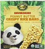 EnviroKidz Organic Panda Crispy Rice Bars, Peanut Butter,6 oz- 6-Count Bars (Pack of 6)
