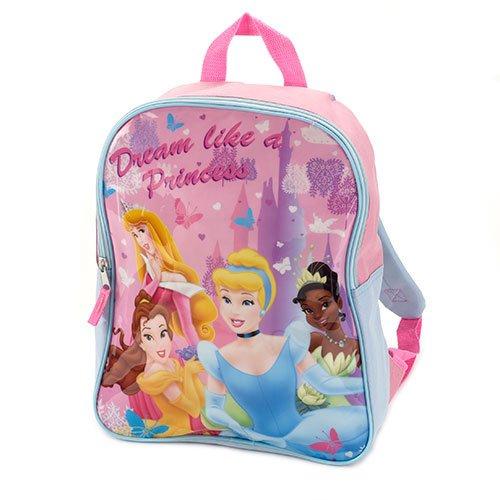 """Disney Princess 14"""" Backpack Toddler Bookbag Preschool"""
