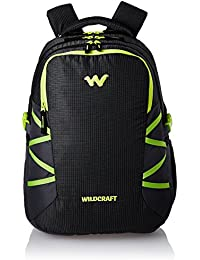Wildcraft Polyester 47 Ltrs Black School Backpack (WC 9 Latlong 8)