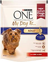 Purina ONE My Dog Is Adult Beef & Rice Dry Dog Food 800g (Pack of 4)