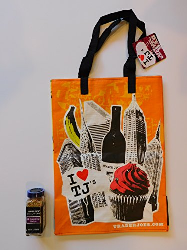 Trader Joe's 21 Seasoning Salute Blend And NY Style Reusable Shopping Bag (21 Seasoning Salute compare prices)