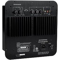 Dayton Audio SPA1000 1000W Subwoofer Plate Amplifier