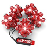 Risk Racing 00226 Red Magnetic Light Mine, (Pack of 5)