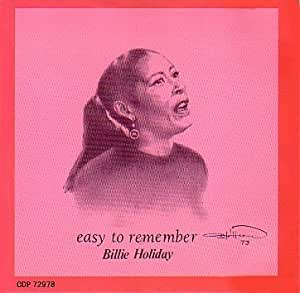 Billie Holiday Easy To Remember Amazon Com Music