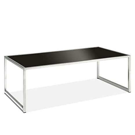 Black Glass Coffee Table - Tables Console Sofa Dining Side Modern Sets Living Room Office Furniture - Sale!