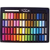 1 X Non Toxic Soft Pastel Set of 64 Assorted Colors Square Chalk