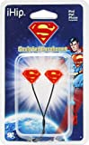 iHip - Official DC Comics Superman Ear-buds Headphones Dynamic Sound - Red/Black/Yellow