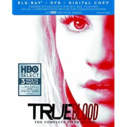 True Blood: The Complete Fifth Season (Blu-ray/DVD Combo + Digital Copy)