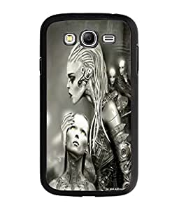 Fuson Alien Girls Back Case Cover for SAMSUNG GALAXY GRAND NEO - D3777