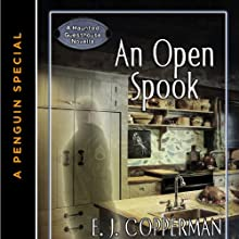 An Open Spook: A Haunted Guesthouse Mystery (       UNABRIDGED) by E. J. Copperman Narrated by Amanda Ronconi