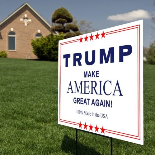 [Donald Trump 2016 Election President Campaign Supporter Yard/Lawn Sign 18