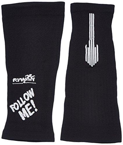 Rywan Follow Me & Keep distanza-Manicotto di compressione, colore: nero, taglia: M (taglia del produttore: 32/38 cm)