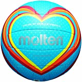 molten Volleyball, Blau/Rot/Orange, 5, V5B1501-B