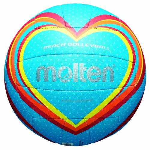 molten Volleyball, Blau/Rot/Orange, 5, V5B1501-B