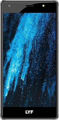 LYF WATER F1S - Dual Sim 4G VoLTE+ (Black, 3GB RAM, 32GB ROM)