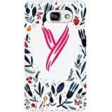 AMAN Pattern Y 3D Back Cover For Samsung Galaxy A7 2016