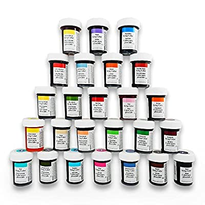 Wilton Master Icing Color Set (Includes ALL 25 Wilton Icing Colors in Large 1 Ounce Bottles)