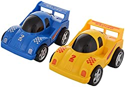 Smiles Creation Racing Pull Back Car Toy (Multi-colour)