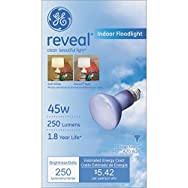 GE Lighting 73439 Reveal Spotlight Light Bulb-45W REVEAL REFLECT BULB