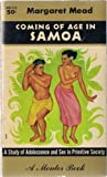Coming of age in Samoa;: A psychological study of primitive youth for western civiliztion