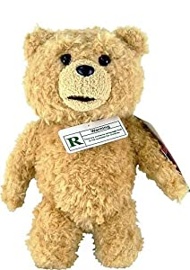 Ted 8 Plush With Sound R-rated 5 Phrases Explicit Language from Ted