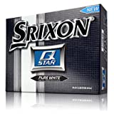 Srixon Men's Q-Star Golf Balls (1-Dozen), Pure White