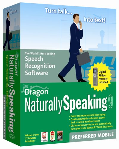Dragon Naturally Speaking Preferred 9