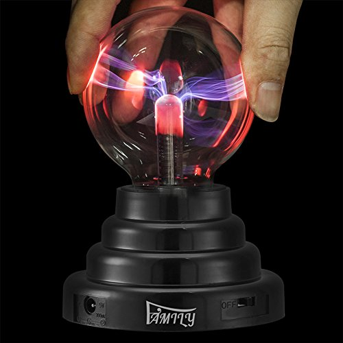 FAMILY® Call plasma ball, static electricity ball, ball lightning, USB cable or battery powered