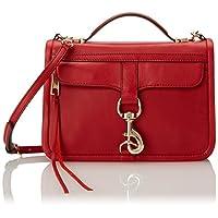 Rebecca Minkoff Bowery Cross-Body Handbag,Crimson, One Size