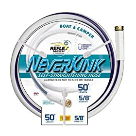 Apex 8612-50 NeverKink 5/8-Inch-by-50-Foot Boat and Camper Reel Hose