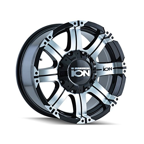 One ION 187 Black with Machined Face/Lip Wheel/Rim - 16x8 - 6x139.7 - +10mm (Rims 16 For Toyota Pickup 1994 compare prices)