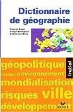echange, troc P. Baud, S. Bourgeat - Dictionnaire de géographie