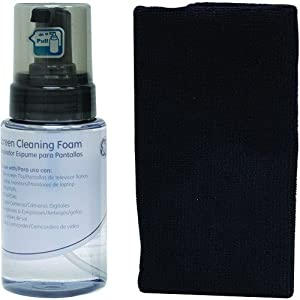 Ge 70506 Tv Screen Cleaning System With Microfiber Cloth
