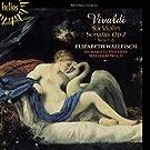 Vivaldi: Six Violin Sonatas (Violin Sonatas Op. 2 No. 1-6) (Elizabeth Wallfisch/ Richard Tunnicliffe/ Malcolm Proud) (Hyperion: CDH55404)