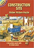 img - for Construction Site Sticker Picture Puzzle (Dover Little Activity Books) book / textbook / text book