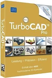 Turbo Cad V 18 Pro Platinum incl. 3 D Symbole